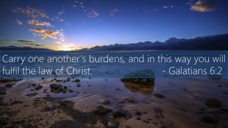 How Do We Carry Each Others' Burdens?