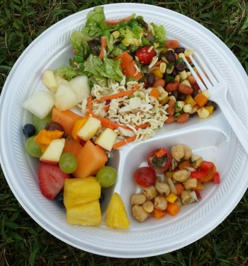 sugar-free salad plate