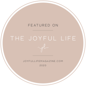 featured on The Joyful Life
