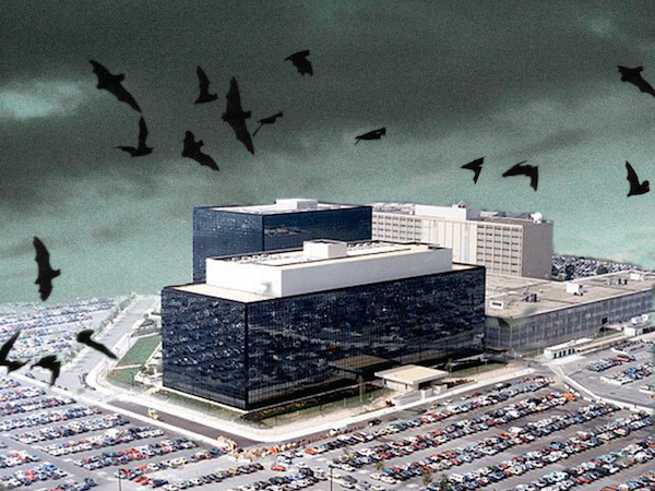 Spooky National Security Agency HQ