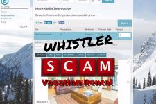 Whistler Rental Scam Montebello on Craigslist