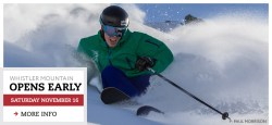 Whistler Blackcomb Opens Early 2013