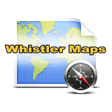 Whistler Accommodation Maps