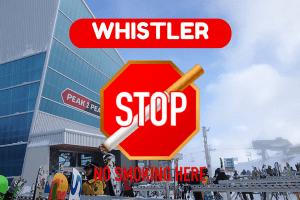 No Smoking In Whistler