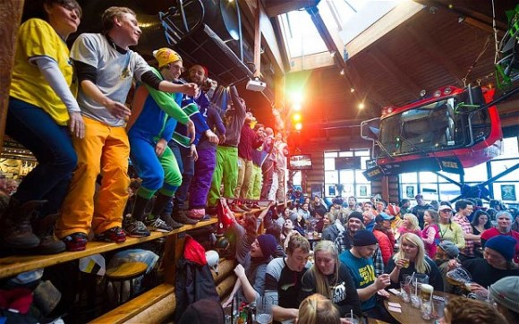 Whistler party scene at Merlin's Pub