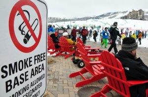 whistler smoke free slopes