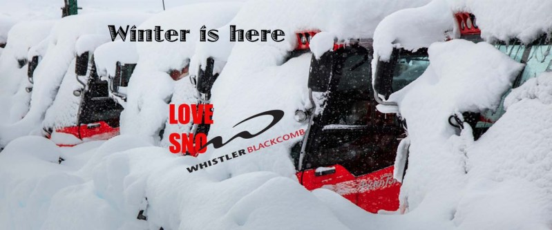 Early Snow at Whistler Blackcomb