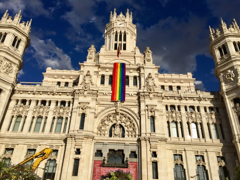 Worldpride Madrid City Hall
