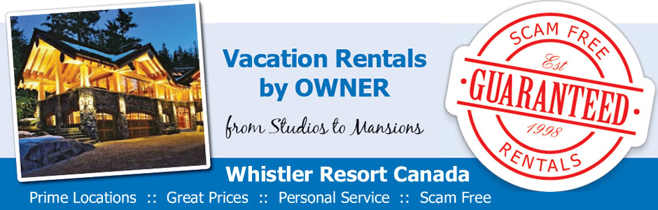 Whistler Vacation Rentals by Owner for GO FEST
