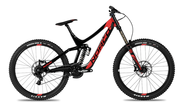 carbon norco aurum rental bike