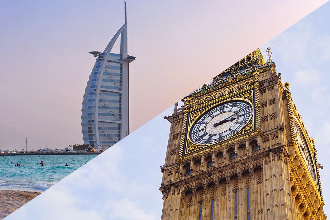 Dubai versus London