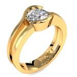 Round Brilliant Cut Diamond Solitaire Engagement Ring