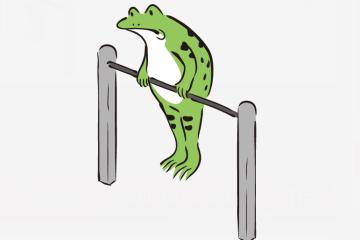 鉄棒 – ダ鳥獣戯画