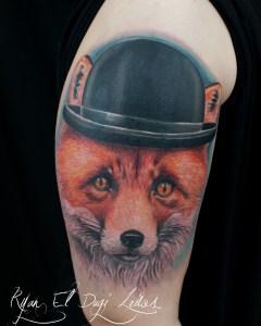 Fox in Bowler Hat