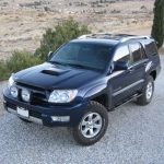 Toyota 4runner 4th Generation 2003 2009 Lexus Gx470 Rock Sliders White Knuckle Off Road Products
