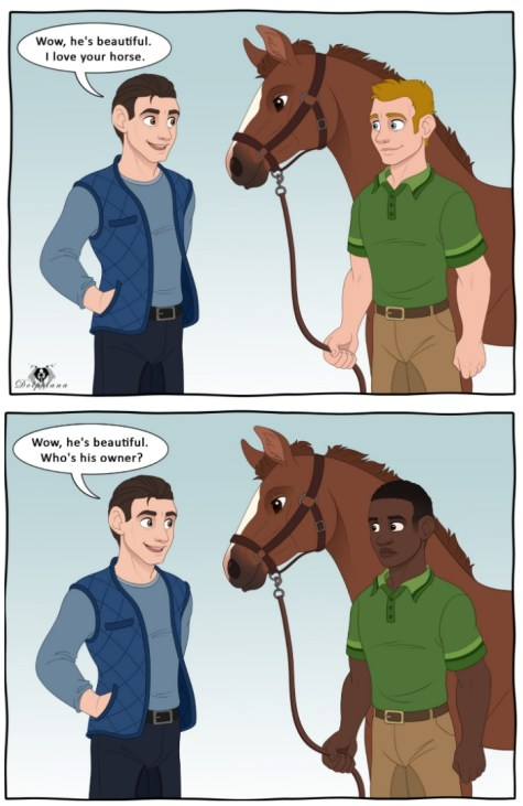 Micro Aggressions: Your Horse