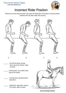 incorrect-riding-position