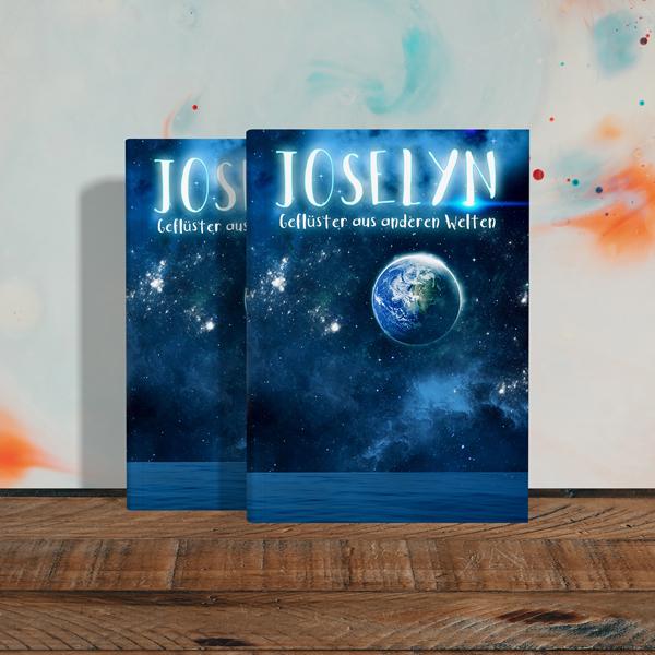 Joselyn Buch an der Wand