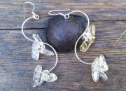 Long Citrine Earrings 2