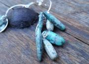 Long Turquoise Earrings 4