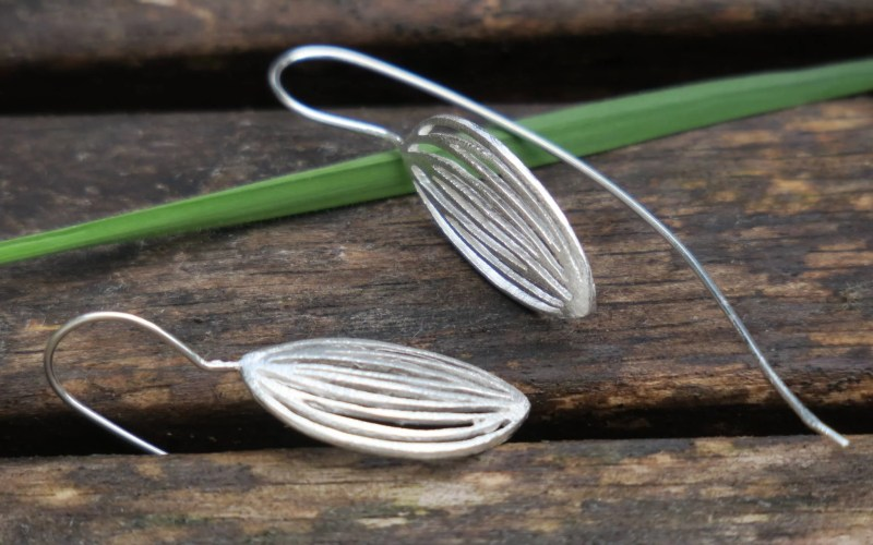 Silver Earrings 1