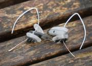 Silver Quartz Earrings 3