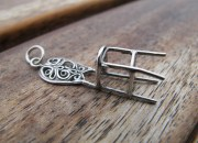 Sterling Silver Chair Pendant 2