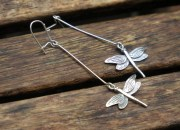 Sterling Silver Dragonfly Earrings 6