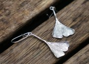 Silver Botanical Earrings 4