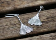 Silver Botanical Earrings 5