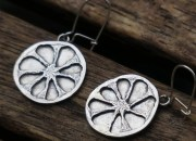 Silver Fruit Earrings 3