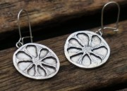Silver Fruit Earrings 4