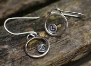 Sterling Silver Heart Earrings 2