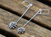 Lopng Flower Earrings 5
