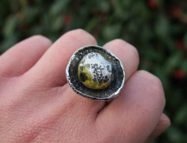 Unique Amber Ring 1