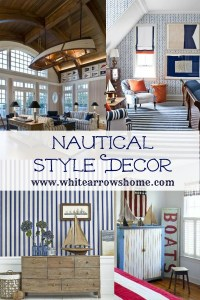 Nautical Style, Lake House, Lake Style, Cabin Style, Cabin Decor, Cottage Decor, Lake Cottage