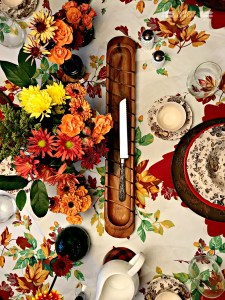 rustic tablescape, Thanksgiving table, Fall table, Autumn Table