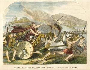boudica_charge against romans