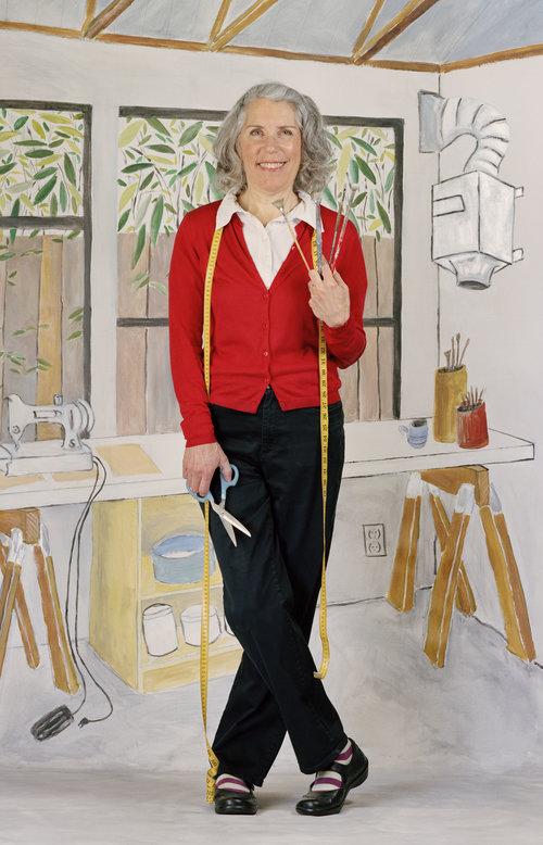 Artist Anne Mavor