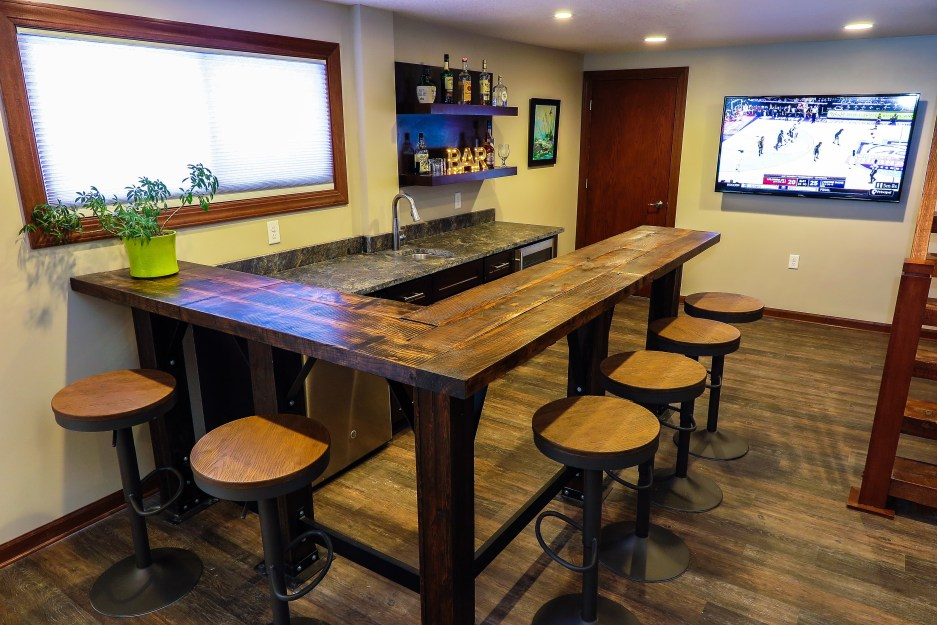 Basement Lower Level Remodeler Eden Prairie MN