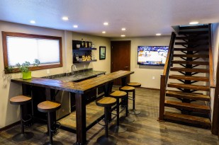 Santee Circle, Prior Lake Basement Remodel