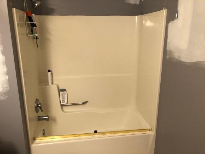 Lakeville Bathroom Remodel - Before