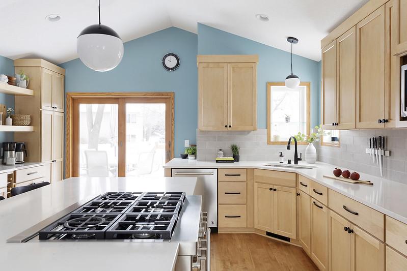 Light & Bright Kitchen Remodel by Minnesota remodeler, White Birch Design
