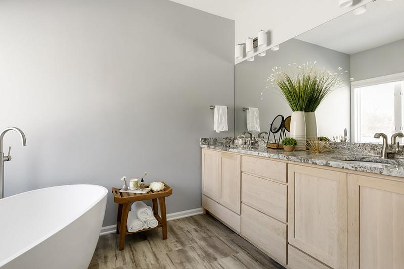 Simply Zen Bathroom Remodel - Project by Minnesota remodeler, White Birch Design