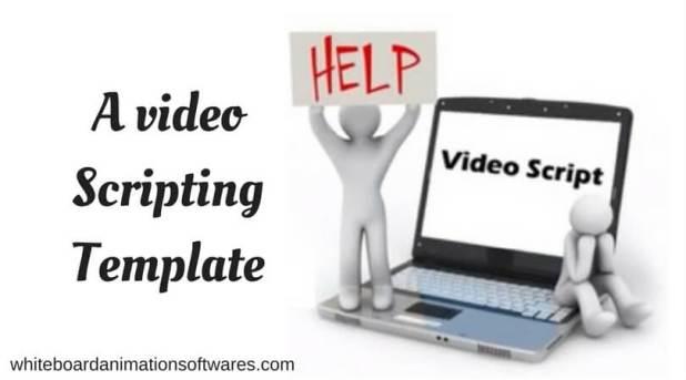 A video scripting template