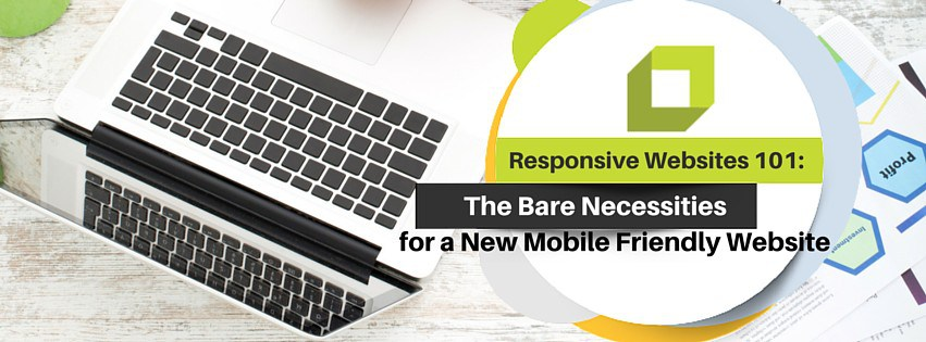 Responsive Websites 101: The Bare Necessities for a New Mobile Friendly Website