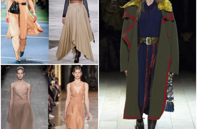 autumn winter fashion trends and key pieces