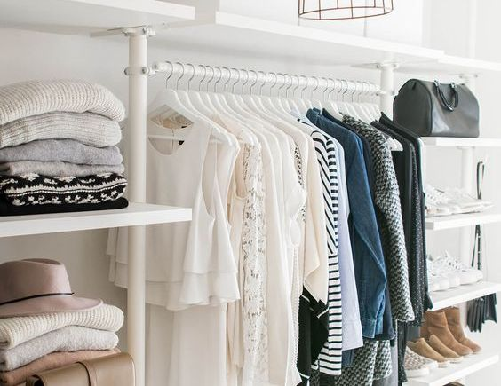 Working mum's capsule wardrobe