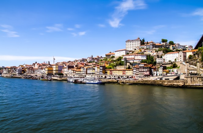 View pf Porto and Douro River from Gaia - Porto, Portugal