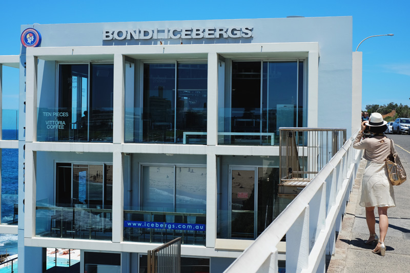 Lunch At Icebergs Dining Room And Bar Bondi Beach White